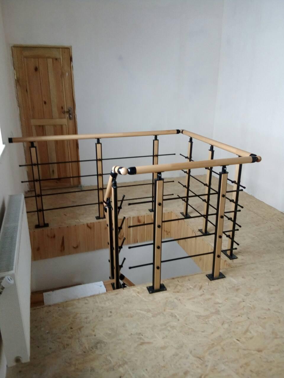 Ограждения и перила для лестницы