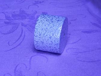 Заглушка поручня финишная, цвет античное серебро, фотография 2