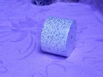 Заглушка поручня финишная, цвет античное серебро, фотография 4