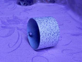 Заглушка поручня финишная, цвет античное серебро, фотография 5