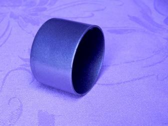 Заглушка поручня финишная, цвет серый металлик, фотография 2
