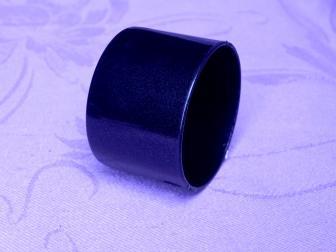 Заглушка поручня финишная, цвет черный графит, фотография 1