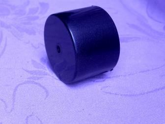 Заглушка поручня финишная, цвет черный графит, фотография 2