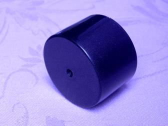Заглушка поручня финишная, цвет черный графит, фотография 3