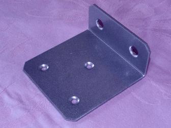 Уголок, цвет серый металлик, фотография 2
