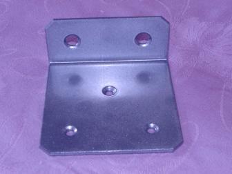 Уголок, цвет серый металлик, фотография 3