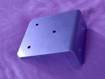 Уголок, цвет серый металлик, фотография 4